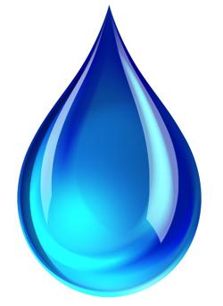 blue-teardrop