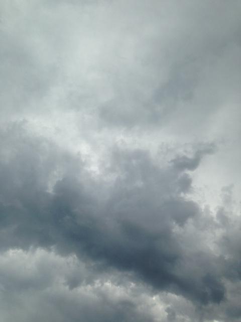 Eclipse clouds