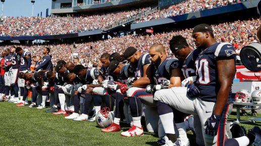 Anthem protest photo