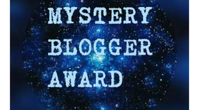 Myster blogger award