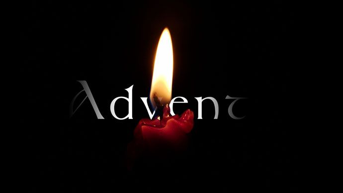 Advent candle image