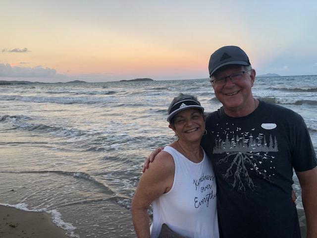 Us and PR sunset