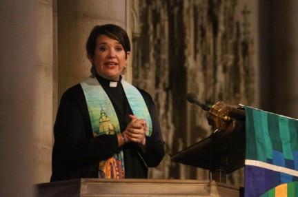Female pastor