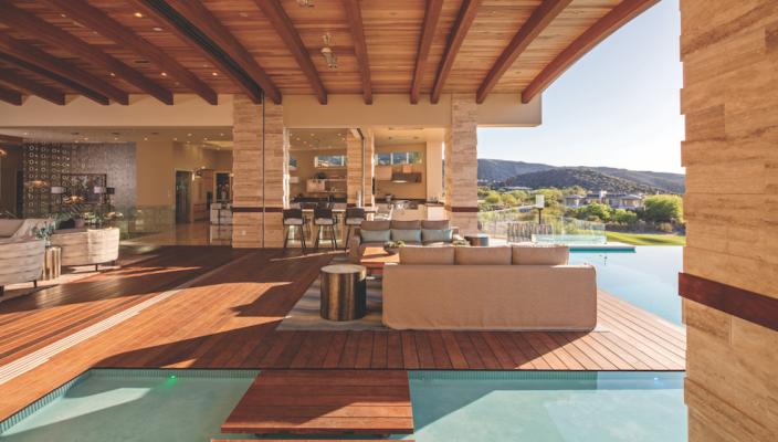 Indoor outdoor space